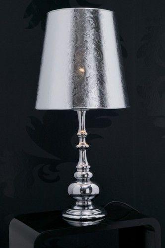 au ergew hnliche tischlampe aristo chrom floral lampen shop. Black Bedroom Furniture Sets. Home Design Ideas