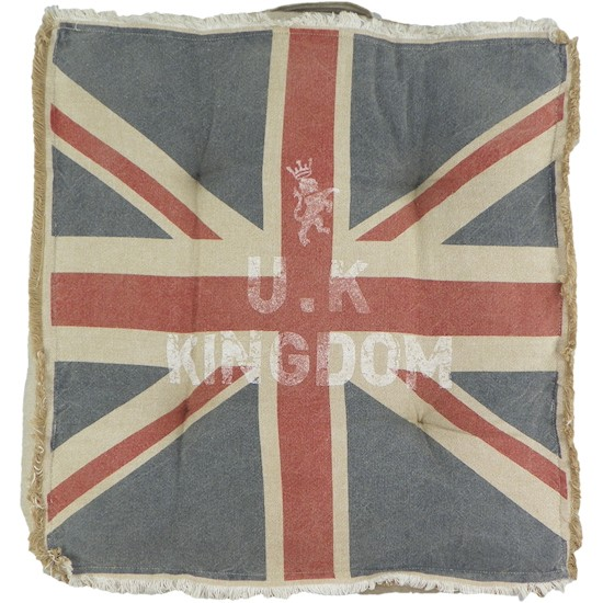 kissen sitzkissen stuhlkissen union jack vintage shabby design england flagge ebay. Black Bedroom Furniture Sets. Home Design Ideas